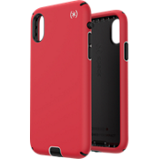 Presidio Sport Case for iPhone XS/X - Red/Grey/Black