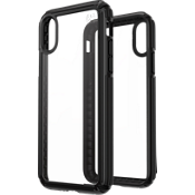 Presidio V-Grip Case for iPhone XS/X - Clear/Black