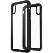 Presidio V-Grip Case for iPhone XS Max - Clear/Black