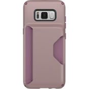 Presidio Wallet Case for Galaxy S8+ - Clay Pink/Plumberry Purple