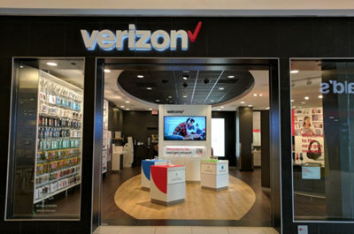 Verizon Wireless At Glendale Galleria Ca