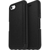 Strada Series Folio Case for iPhone 7 - Onyx