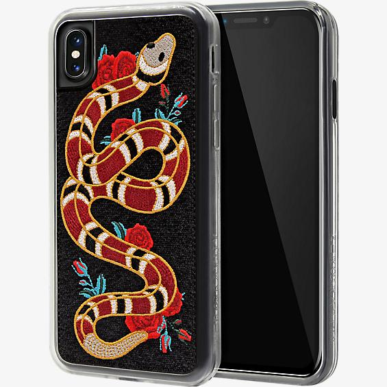 Strike Embroidered Case for iPhone XS/X