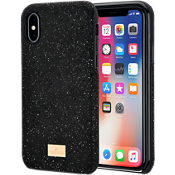 Swarovski High Smartphone Case with Bumper for iPhone X - Black
