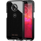 Evo Check Case for moto z3 - Smokey/Black