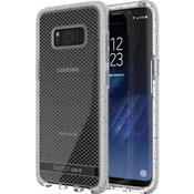 Evo Check Active Edition Case for Galaxy S8 - Clear/Grey