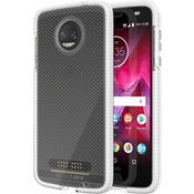 Evo Check Case for moto z2 force edition - Clear/White