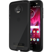 Evo Check Case for moto z2 force edition - Smokey/Black