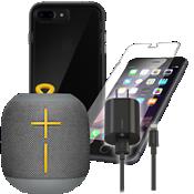 Tech21 Evo Check Case for iPhone 7 Plus Speaker Bundle