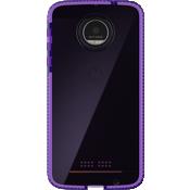 Evo Check Case for Moto Z Droid - Purple