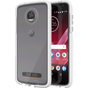 Evo Check Case for Moto Z2 Play - Clear/White
