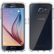 Evo Check Case for Samsung Galaxy S 6 - Clear/White