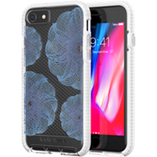 Evo Check Evoke Edition for iPhone 8 - Clear/Blue