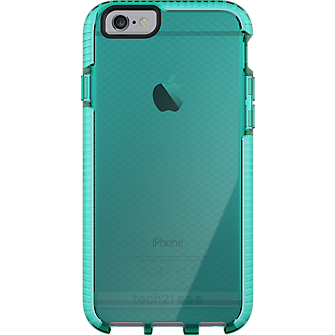 Tech21 Evo Check for iPhone 6/6s - Aqua/White