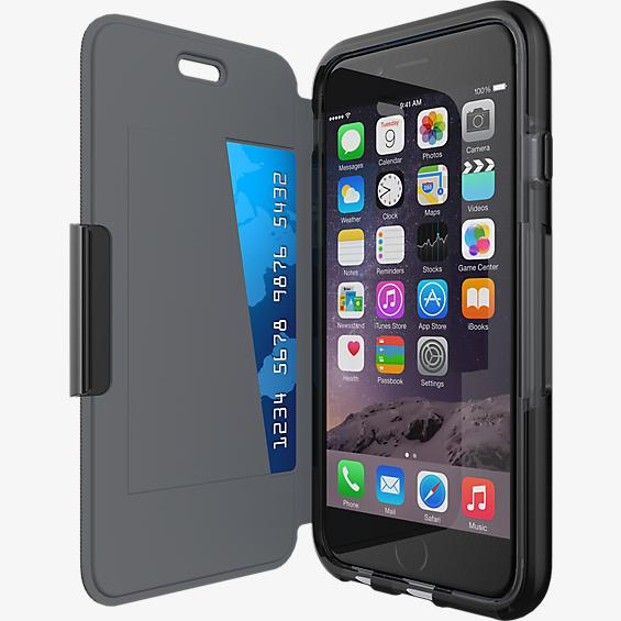 Tech21 Evo Wallet for iPhone 6/6s - Black