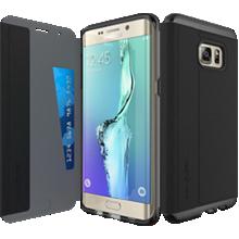 Evo Wallet for Samsung Galaxy S 6 edge+ - Black
