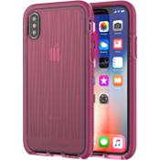 Evo Wave Case for iPhone X - Burgundy