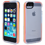Tech21 Impact Shell, Check, Clear for iPhone 5/5s