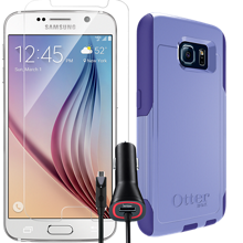 OtterBox Protection Bundle for Samsung Galaxy S 6 - Purple Amethyst