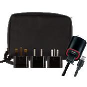 International Travel Charger Kit for Apple Lightning