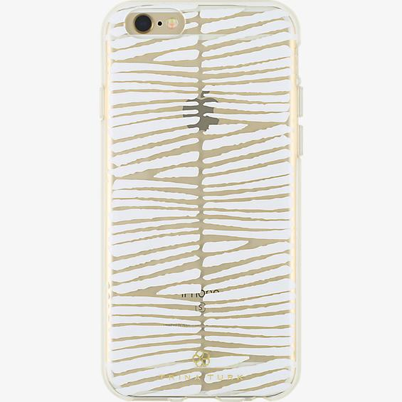 Trina Turk Translucent Case (1-pc) for iPhone 6/6s - Descanso White/Clear