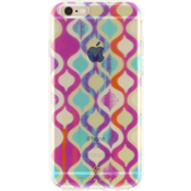 Trina Turk Translucent Case (1-pc) for iPhone 6/6s - Ogee Multi/Clear
