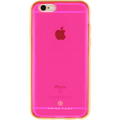 Translucent Case with Metallic Bumper (2-pc) for iPhone 6/6s - Pink/Gold