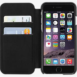 Folio for iPhone 6/6s - Black Leather
