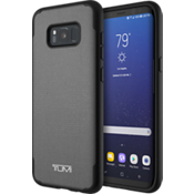 Coated Canvas Co-Mold Case for Samsung Galaxy S8+ - Grey