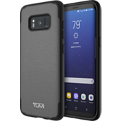 Coated Canvas Co-Mold Case for Samsung Galaxy S8 - Grey