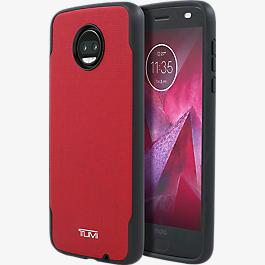 Coated Canvas Co-Mold Case for moto z<sup>2</sup> force edition