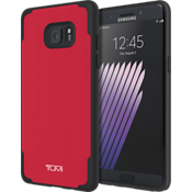 Coated Canvas Co-Mold Case for Galaxy Note7 - Red