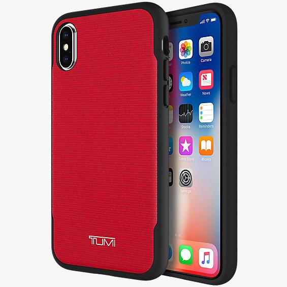 Coated Canvas Co-Mold Case for iPhone X