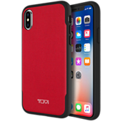 Coated Canvas Co-Mold Case for iPhone X - Coated Canvas Red