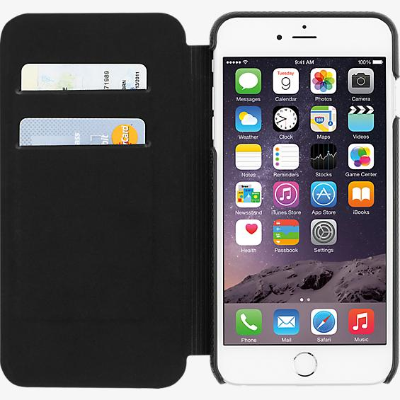 Folio for iPhone 6 Plus/6s Plus - Black Leather