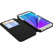 TUMI Folio Case for Samsung Galaxy Note 5 - Black Leather