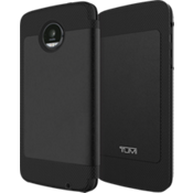Folio Case for Moto Z Force Droid - Full Grain Leather Black