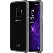 UA Protect Verge Case for Galaxy S9 - Clear/Graphite/Gunmetal Logo