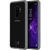 UA Protect Verge Case for Galaxy S9+ - Clear/Graphite/Gunmetal Logo