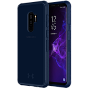 UA Protect Verge Case for Galaxy S9+ - Translucent Navy/Navy/Navy Logo