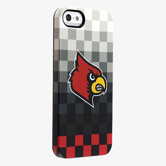University of Louisville Pixel Stripe Deflector Case for iPhone 5/5s