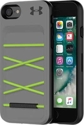 iphone 7 cases. ua protect arsenal case for iphone 8/7 - graphite/quirky lime iphone 7 cases