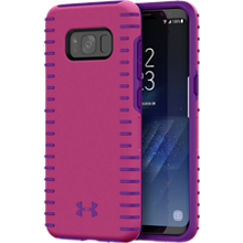 UA Protect Grip Case for Galaxy S8 - Tropic Pink/Purple Rave