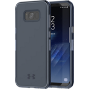 UA Protect Verge Case for Galaxy S8+ - Translucent Navy/Navy/Navy Logo