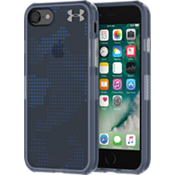 UA Protect Verge Case for iPhone 8/7 -  Translucent Utility Midnight Navy/Mediterranean
