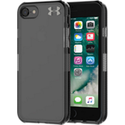 UA Protect Verge Case for iPhone 8/7 - Clear/Translucent Smoke/Gunmetal Logo