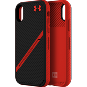 UA Protect Kickstash Case for iPhone XS/X - Black/Red
