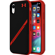 UA Protect Kickstash Case for iPhone XR - Black/Red