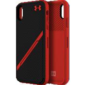 UA Protect Kickstash Case for iPhone XS Max - Black/Red