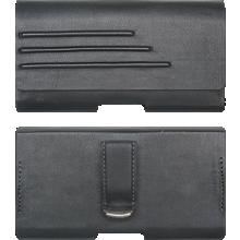 Universal Vegan Leather Pouch with Belt Clip - Medium